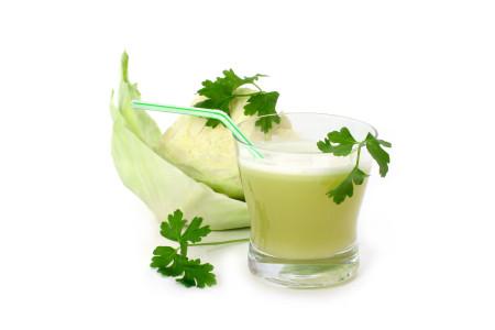 капустный сок при язве желудка