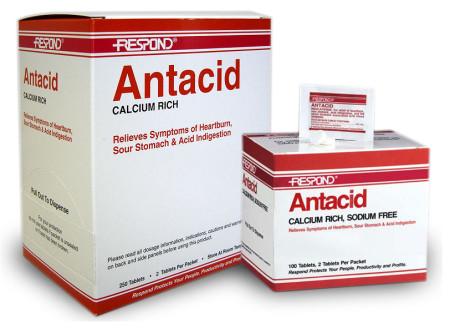 Перечень антацидных препаратов