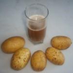 Картофельный сок при язве желудка