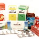 Таблетки от язвы желудка: названия