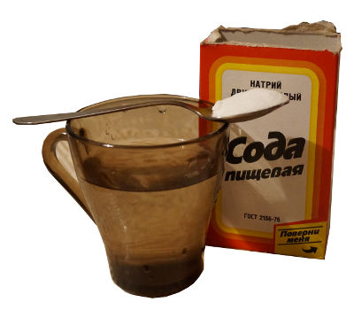 пить соду от паразитов как
