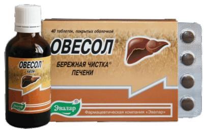 Овесол или гепатрин что лучше