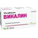 Викалин: инструкция по применению